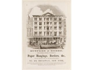 The Illustrated American Biography&#59; containing correct Portraits and Brief Notices of the Principal Actors in American