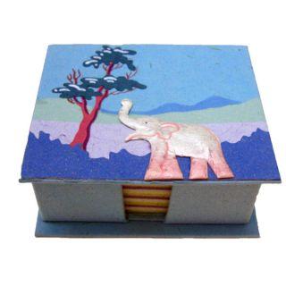 Mr. Ellie Pooh Robins Egg Blue Poo Paper Note Box (Sri Lanka