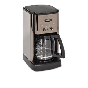 Cuisinart DCC 1200BCH Brew Central Coffee Maker   12 Cup, Adjustable Keep Warm, 24 Hour Programmable, Auto Shutoff, Charcoal Water Filter, (Refurbished)