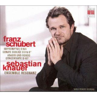 Franz Schubert: Impromptus D935; Sonate Oubliée D916B; Adagio und
