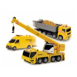 Dickie Toys Construction Team Crane Truck   Shopping   Big