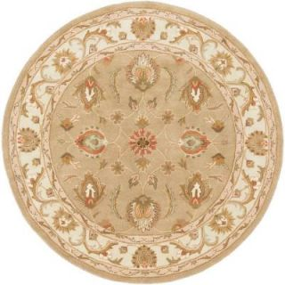 Artistic Weavers Oxford Isabelle Moss 6 ft. x 6 ft. Round Indoor Area Rug AWDE2006 6RD