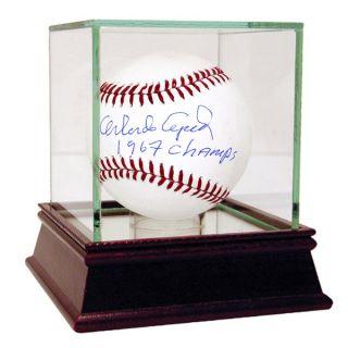 Orlando Cepeda MLB Baseball w/ 67 Champs Insc (MLB Auth)   18194158