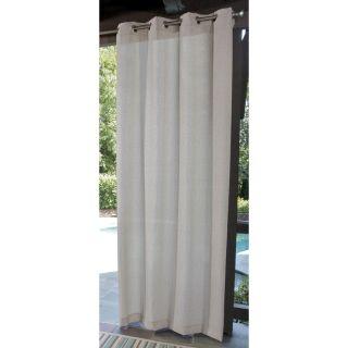 "allen + roth 96"" Cream Outdoor Curtain Panel"