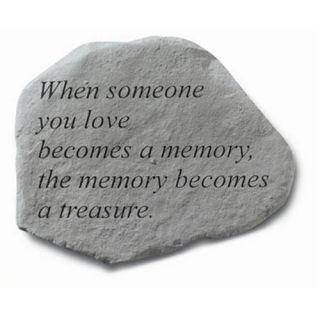 When Someone You Love Memorial Stone