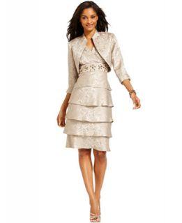 Richards Tiered Embellished Dress and Jacket   Dresses   Women