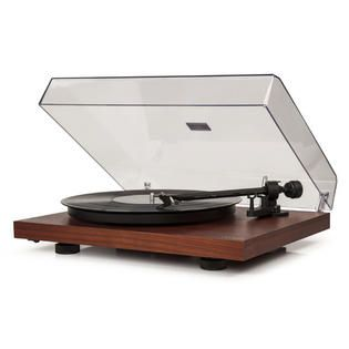 Crosley Two Speed Manual Turntable Deck   Finish Mahogany   TVs