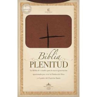 Biblia Plenitud / Spirit Filled Bible: Reina Valera 1960, terracota, estudio