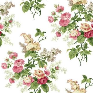 York Wallcoverings 56 sq. ft. Waverly Cottage Emma's Garden Wallpaper ER8180