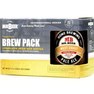 Mr. Beer West Coast Pale Ale Refill Brew Pack
