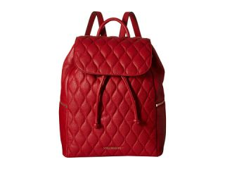 Vera Bradley Quilted Amy Backpack Tango Red