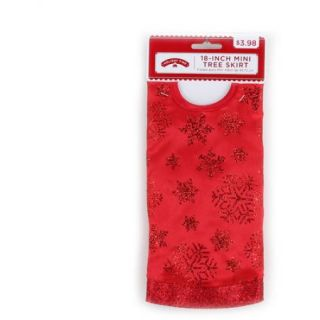 Holiday Time 4 Piece Red Christmas Tree Kit