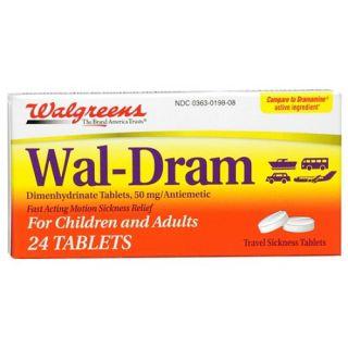 Wal Dram Antimetic Travel Sickness Tablets