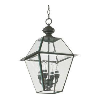 Quorum Duvall 4 Light Outdoor Hanging Lantern/Pendant