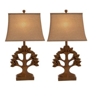 Casa Cortes Tree of Life 30 inch Table Lamps (Set of 2)