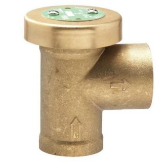 Watts 3/4 in. x 3/4 in. Brass FPT x FPT Anti Siphon Air Admittance Valve 3/4 188A
