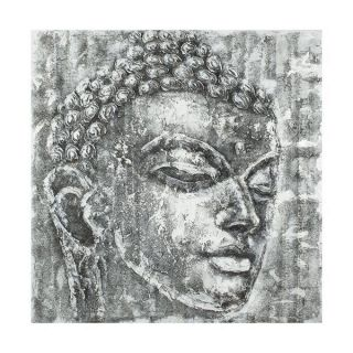 Safavieh ART2007A Buddha Painting in Black and White
