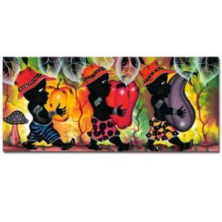 Trademark Fine Art 14 in. x 32 in. Para Fiesta Canvas Art MA125 C1432GG