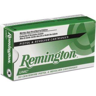 Remington UMC Pistol and Revolver Cartridge, 9mm Luger, 115 Gr. MC