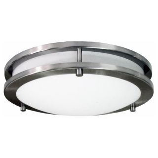 HomeSelects Saturn 12 inch Round Surface Mount Light   17445865