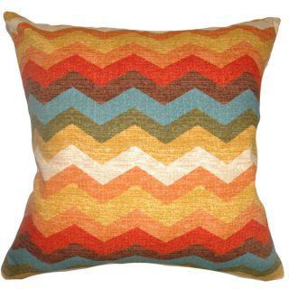 Gail Zigzag Down Fill Autumn Throw Pillow   16344526
