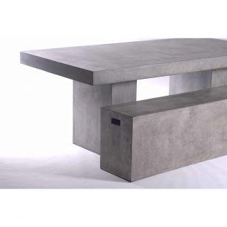Urbia Mixx Una Fiber Reinforced Natural Concrete Bench