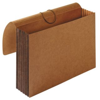 Sparco Accordion Wallets, Letter, 8.5 x 11, 5.25 Expansion, Brown