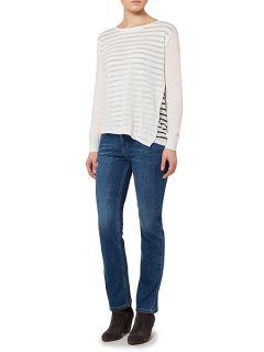 Linea Weekend Ladies straight leg jeans Black