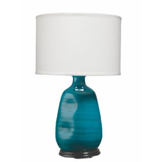 Dimple Vase 25.5 H Table Lamp with Drum Shade by Jamie Young Company