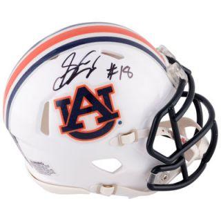 Sammie Coates Auburn Tigers  Authentic Autographed Riddell Mini Helmet