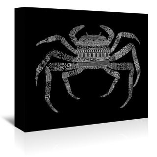 Crab by Florent Bodart Framed Graphic Art by Americanflat