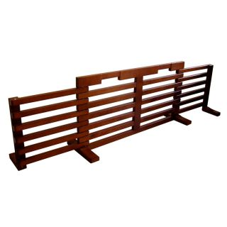 Merry Pet 40 in W Freestanding Wood Expandable Pet Gate