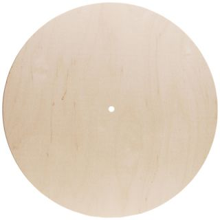 Baltic Birch Clock Face14in Gallery Round Use 500P Movement   17626882