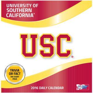 USC Trojans 2016 Box Calendar