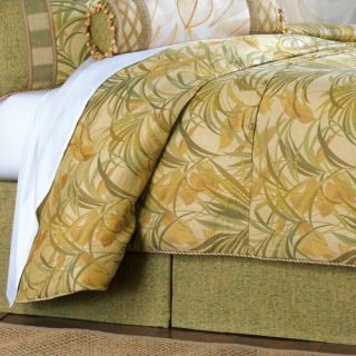 Antigua Polyester Button Tufted Comforter by Eastern Accents