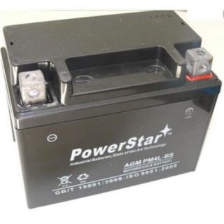 PowerStar PM4L BS 121 2 Year Warranty Kids Motorcycle Battery 12V 4AH 12VX4L ZUMA ATV Quad