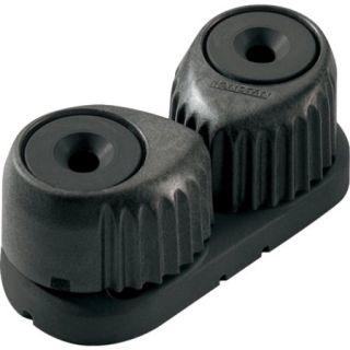 RONSTAN MEDIUM C CLEAT CAM CLEAT BLACK W/BLACK BASE RF5410