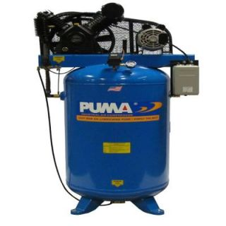 80 Gal. 6.5 HP Electric 2 Stage with Magnetic Starter Air Compressor TN 6580VM