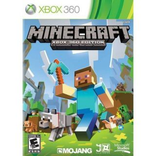 Minecraft (Xbox 360)   Pre Owned