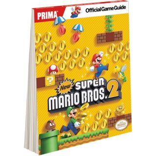 New Super Mario Bros 2 3DS Official Strategy Guide (Wal Mart Custom Version) (Paperback)
