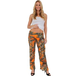 Womens Juniors Authentic True Timber Pants Camouflage Hunt Camo WHITE