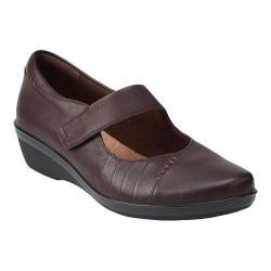 Womens Clarks Everlay Daphne Mary Jane Brown Leather   17810623
