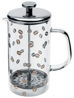 Mame Coffee maker Transparent / Stainless steel by A di Alessi