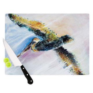 KESS InHouse Overhead by Josh Serafin Bird Cutting Board