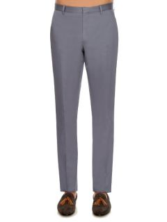Millbank cotton twill chinos  Burberry London US