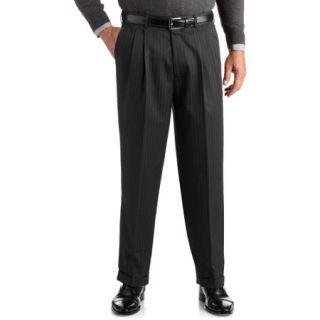George Men's Pinstripe Pleated Dress Pant