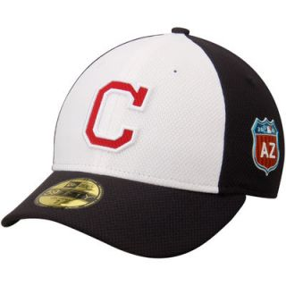Cleveland Indians New Era Spring Training Diamond Era Low Profile 59FIFTY Fitted Hat   Navy/White