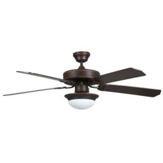 Concord Fans Heritage Fusion 52 in. Indoor Oil Rubbed Bronze Ceiling Fan 52HEF5EORB ES