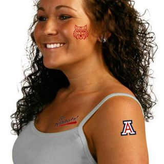 Arizona Wildcats Temporary Tattoos
