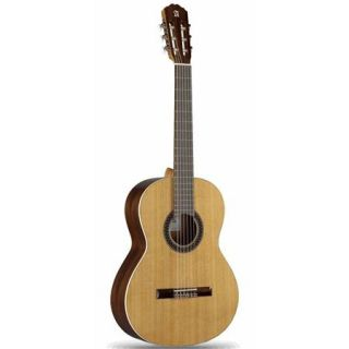 1C CADETE US Alhambra Guitars Alhambra Guitars Classic Series 1C CADETE Guitar, 19 Frets, Mahogany Neck, Indian Rosewood Fingerboard, High Gloss, Natural